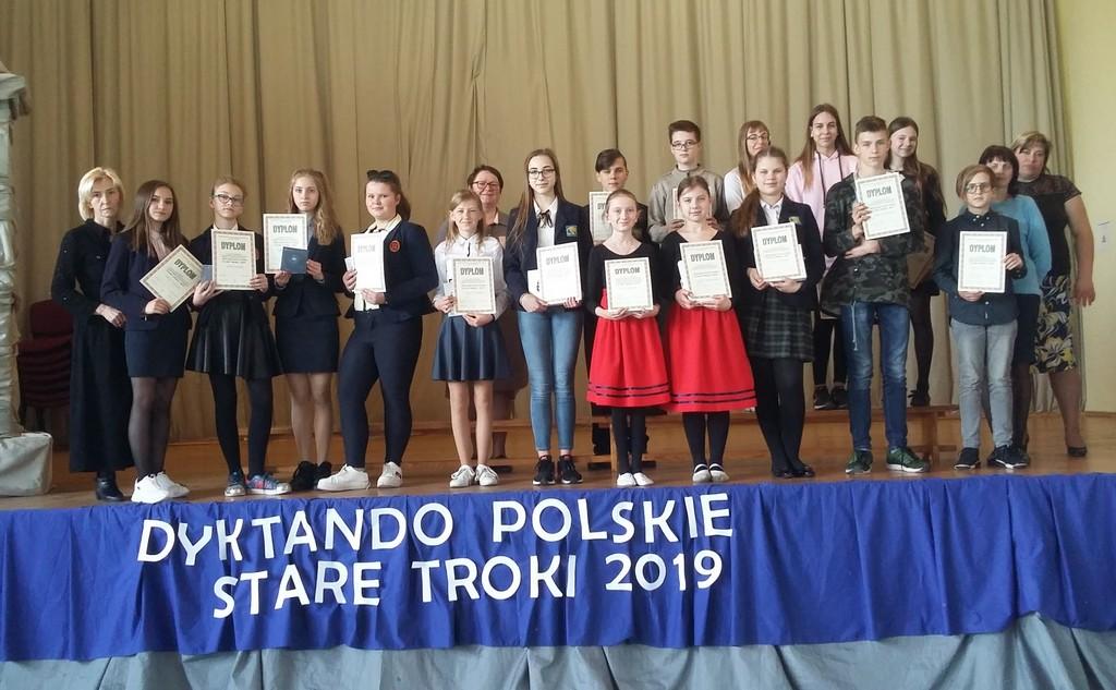 Polskie dyktando w Starych Trokach