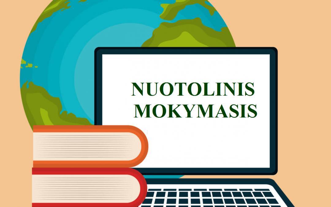 NUOTOLINIS MOKYMAS SUVIENIJO VISUS